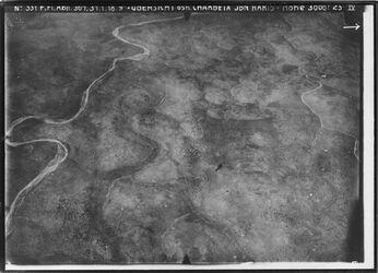 Fotografie Übersicht östl. Charbeia Ibn Maris nicht bet nebula vgl. 2832 [GDIp00533].2831 [GDIp00534] in d. Mitte Ortschaftsbudrus o.m. Anschluss an XXVI25 l.u. budrus, nördl. v. midje l.wohl w. en-natuf r.w. sahin