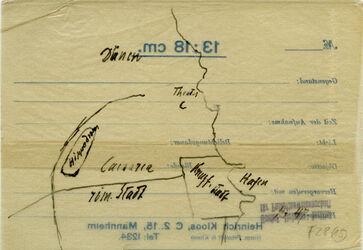 Karte Caesarea [Cäsarea]