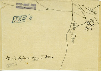 Karte v. Jericho z. T. Meer [Totes Meer] 24. der hagla n. Weg z. T.Meer