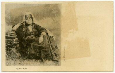 Fotografie Type Curde [kurdische Frau]