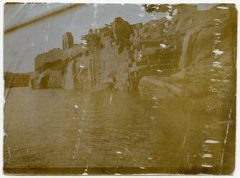 Fotografie Philae. Wasserschöpfen am Nil
