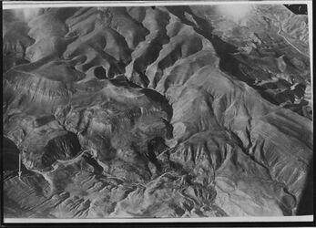 Fotografie östl. des seez temed Ostjordan r. oben wadi el-ehra [Arabische Halbinsel]