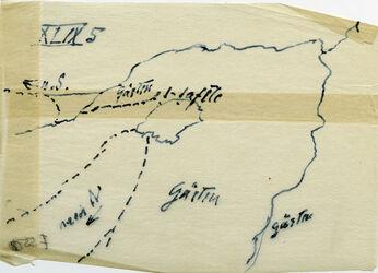 Karte Et-tafile Gärten