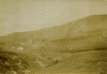 Fotografie el- hammi [?] im Jordantal