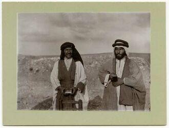 Fotografie Bauern in Elhosn (aglun) [adjlun, adschlun]