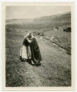 Fotografie östl. v. Jordan [Beduinen]