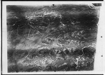 Fotografie Wadi Scheria [es-seria] wadi Gaza Nachabir [?] Mendur [?] of 1676 [GDIp01392] u. 158 [GDIp01394] Mitte