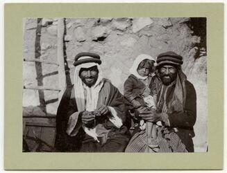 Fotografie Bauern in Elhosn [el-hosn, adjlun, aglun, adschlun]