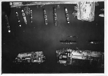 Fotografie PortSaid [Port Said] UBR SO Privat Hafen Anschluss an Nr. 100 [GDIp01301] Bassin Abbas Hilmi [?] Greifswald Nr.6