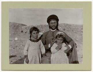 Fotografie Bauer in Elhosn (aglun) [El-hosn, adglun, adschlun, adjlun]