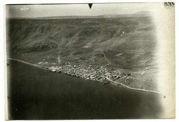 Fotografie Tiberias oben nebi dahi [Nebi dahi] u. Tabor