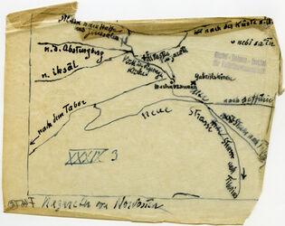 Karte Nazareth von Nordosten