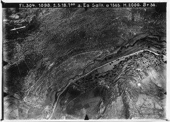 Fotografie s. Es Salt [Es-salt] Weg n. essalt XII Anschl. an 1146 [GDIp01177]