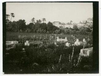 Fotografie Dschenin [Jenin, Friedhof]