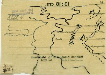 Karte Et-tafile Wasserscheide