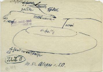 Karte Nr.52 Aleppo v. SO