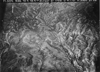 Fotografie Birket et Trab [Birket et-Trab; nw. Madaba] Anschl. U an 1167 [GDIp01201] M