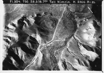 Fotografie Tell Nimrin Weg n. es-salt II [Es-salt] Anschl. an 1112 [GDIp01168]