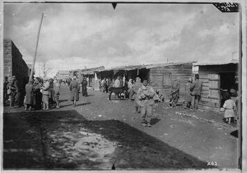 Fotografie Bahnhof rajak [bei Baalbek]