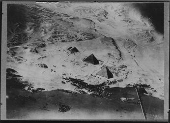 Fotografie Pyramiden v. Gihize [wohl Gizeh]
