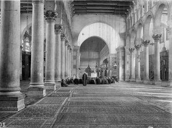 Fotografie Original Omajadenmoschee Damaskus