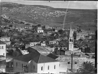Fotografie Naz. Pan. D. [Nazareth] Verkünd. Kirche