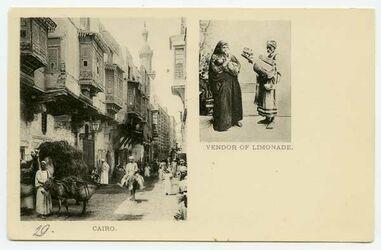 Fotografie Cairo [Kario]. Vendor of Limonade.