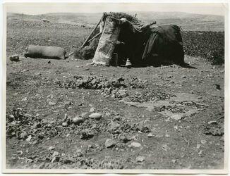 Fotografie Wächterhütte aus Kura-Ferdi in el-bak