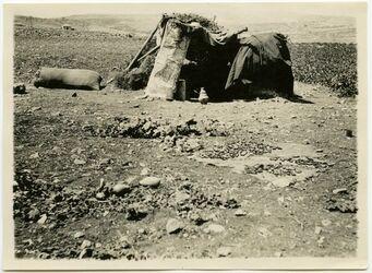Fotografie [Wächterhütte aus Kura-Ferdi in el-bak