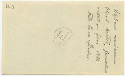 GDIp01978; Fotografie; Sibylum marianum bland fretet, Jerusalem midlet an juni 1921, in Bestand von rund 5.000 nach Themen und Orten sortierten Kleinbildabzügen