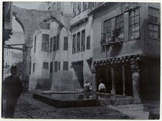 Fotografie Hof in Damaskus