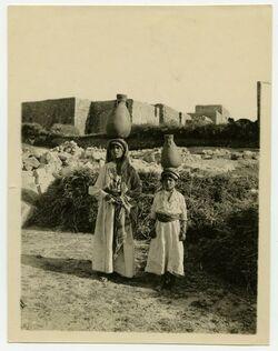 Fotografie Ramallah [wassertragende Personen]