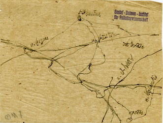 Karte n. Jerusalem