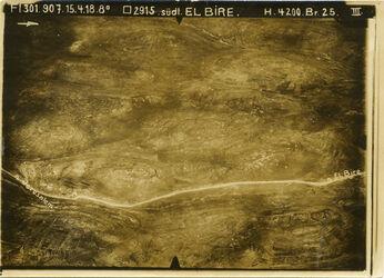 Fotografie südl. El Bire Strasse v. ch.attara nach N.