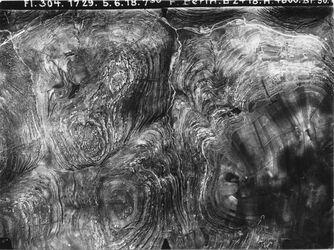 Fotografie Betin [Beitin, Bethel] Anschluss an Nr. 34[GDIp00332] u. 20 [?]. 34a [GDIp00333] Betin-Nablus IIa westl. v. 591 [34] oben Tal zw. en el-masaje u. en jebrud Nebental in der Mitte= 1. Nebental 2. Nebental auf 34a r. unten Berg von ch. Merara(…)