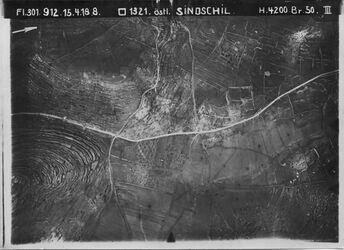Fotografie östl. Sindschil Anschluss an 530 [GDIp00354] Nablus-Strasse östl v. singil [siugil?]