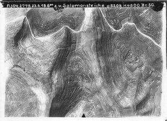 Fotografie s. w. Salomonsteiche Strasse unterhalb nebi danjan [scherafet en-nebi Danjan] BR O. Hebronweg Nr.8 Anschluss an 7