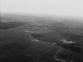 Fotografie Plain of erduael on Taken above the hill Silboa [?][wohl bei Besan]