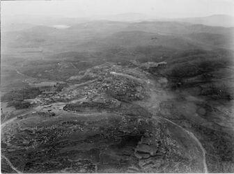 Fotografie Blick westwärts Nazareth tafowieh [?], [unleserlich] of Nazareth