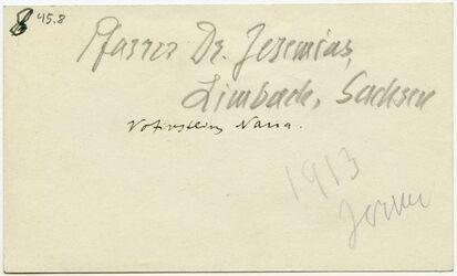 GDIp02217; Fotografie; Vovitschrein Nana [Inschrift], in Bestand von rund 5.000 nach Themen und Orten sortierten Kleinbildabzügen