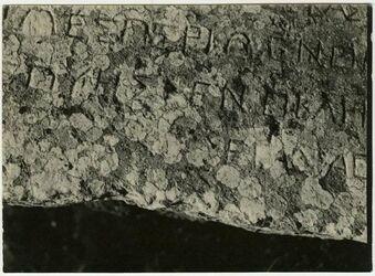 Fotografie geras [gerasch, gerasa, Inschrift]