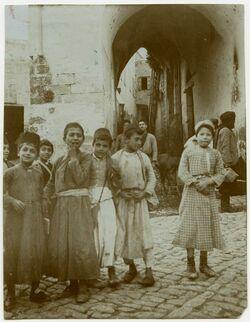 Fotografie Nazaret [Nazareth, Kinder]