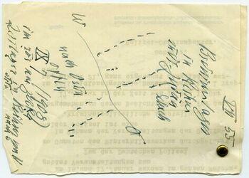 Karte Beduinenlager in Rechus südl. Judäa. Schech [Lager]