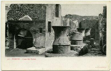 Fotografie Pompei - Casa die Forni. [Mühle]