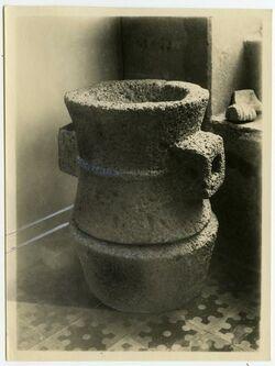 Fotografie antike Mühle im Besitz des syrischen Waisenhauses [Mühle, Jerusalem, mit leichter Retusche]