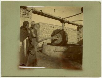 Fotografie Graupenmühle Aleppo [Mühle]