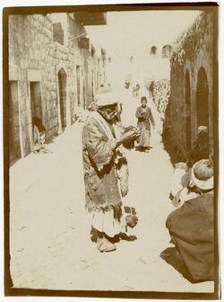 Fotografie ramallah [spinnender Mann]