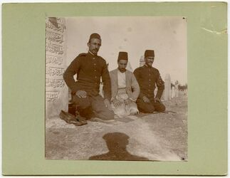 Fotografie Soldaten in Aleppo