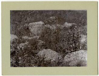 Fotografie Steinkreis zw. Essalt [Es-salt] u. Jabbok wadi errumemin