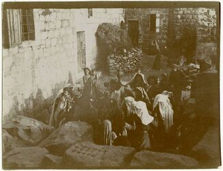 Fotografie Trauertanz Ramallah
